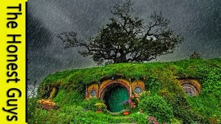 GUIDED SLEEP MEDITATION. SHELTER IN THE HOBBIT SHIRE. LOTR. ASMR