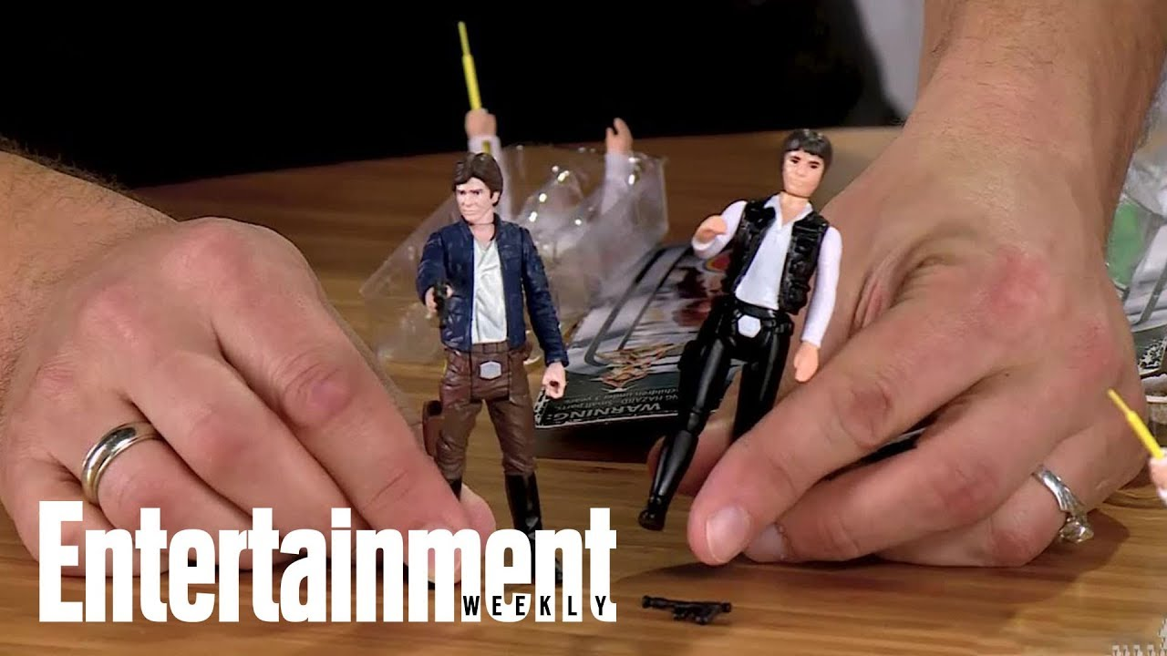 Unboxing 'Star Wars' Retro Action Figures