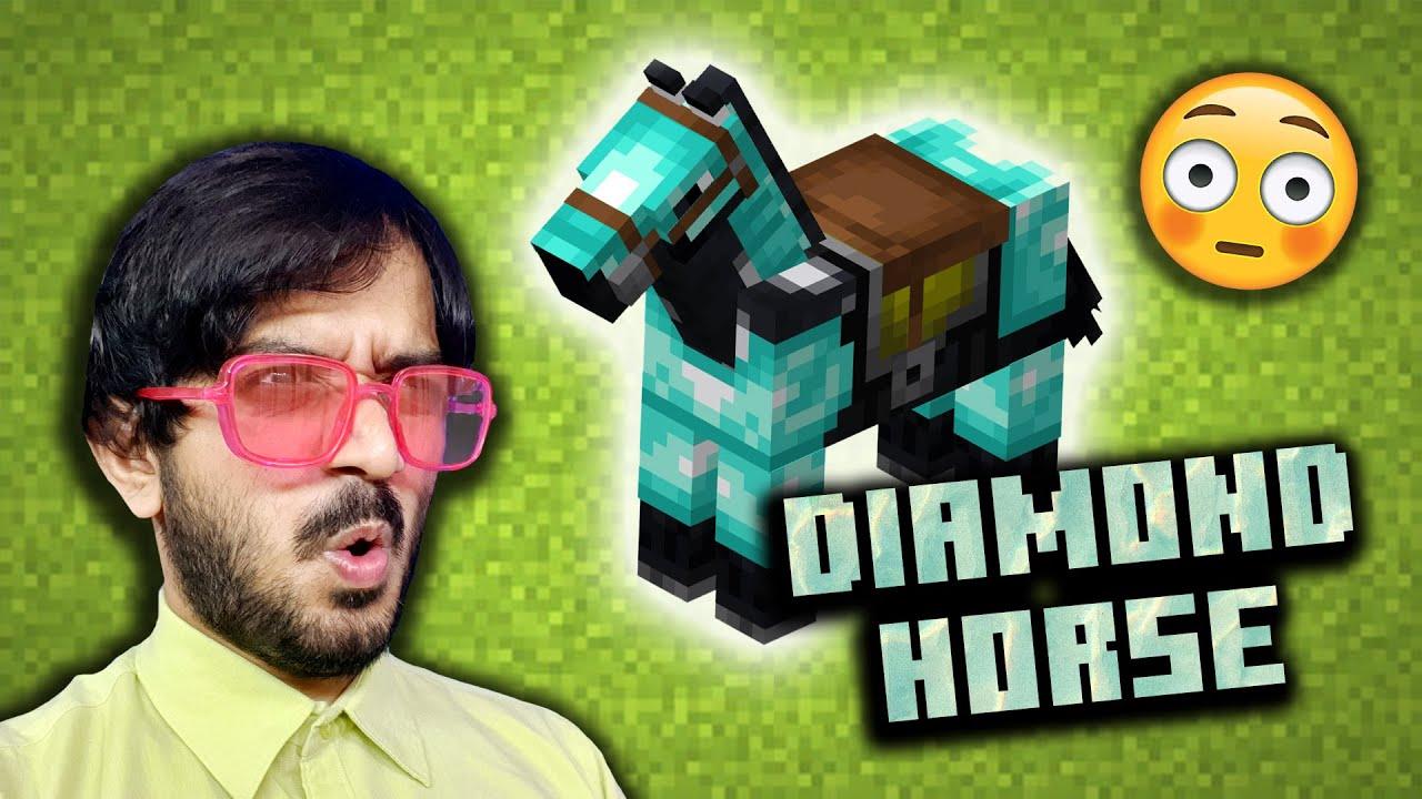DIAMOND HORSE - Lenovo Ghoda in Minecraft?