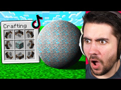 Testing VIRAL Minecraft Myths To See If They're Real!
