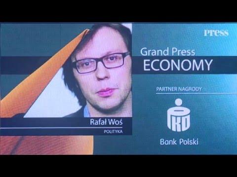 Rafał Woś zdobył Grand Press Economy 2015