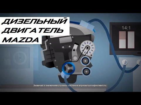 Фото к видео: ДИЗЕЛЬНЫЙ ДВИГАТЕЛЬ SKYACTIV-D. Mazda Techologies
