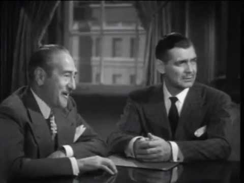 THE HUCKSTERS  Clark Gable meets Sydney Greenstreet.. 1947