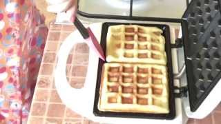 Вафли венские-waffles Vienna