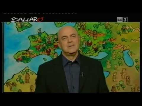 """Ballarò - MAURIZIO CROZZA 15/05/2012 """"Stessa faccia, stessa razza"""""""