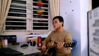 Tinh oi - guitar cover - Quang Manh
