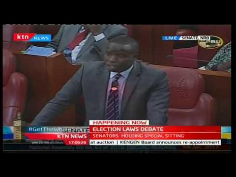 Senator Steven Sang dismisses Senator Moses Wetangula's presidential bid under NASA