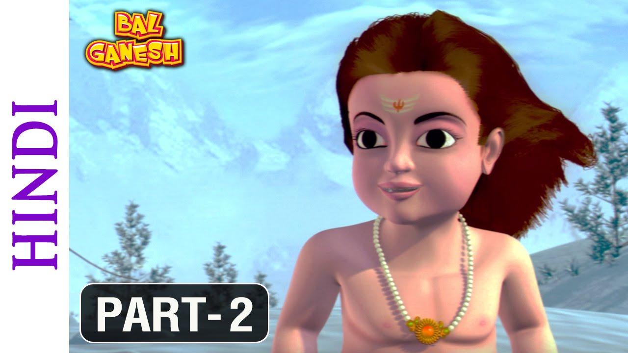 Lord Krishna 3d Live Wallpaper Bal Ganesh Part 2 Of 10 Cartoon Movie For Kids