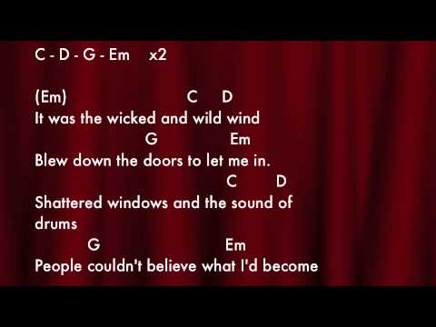 Viva La Vida Chords - YouTube