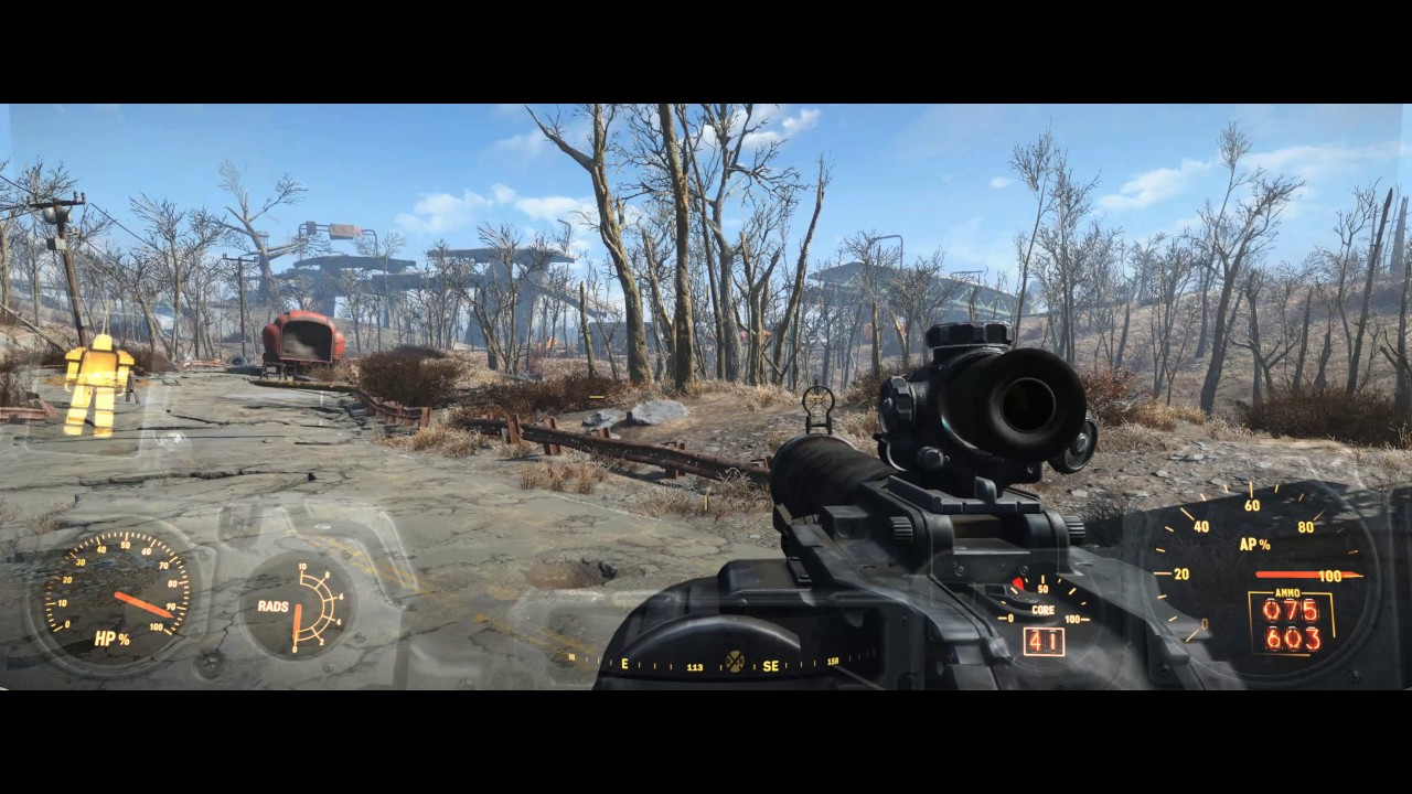 Fallout 4 Ultrawide 21 9 Trueby9 Mod By Dysphunctional Gaming