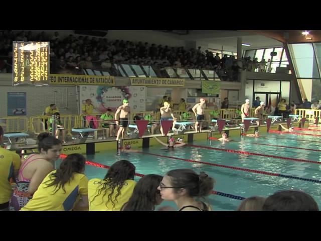 Finales del Trofeo Internacional de Natacion Ayuntamiento de Camargo 2017