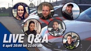 LIVE Q&A! Stel je vragen in de chat!