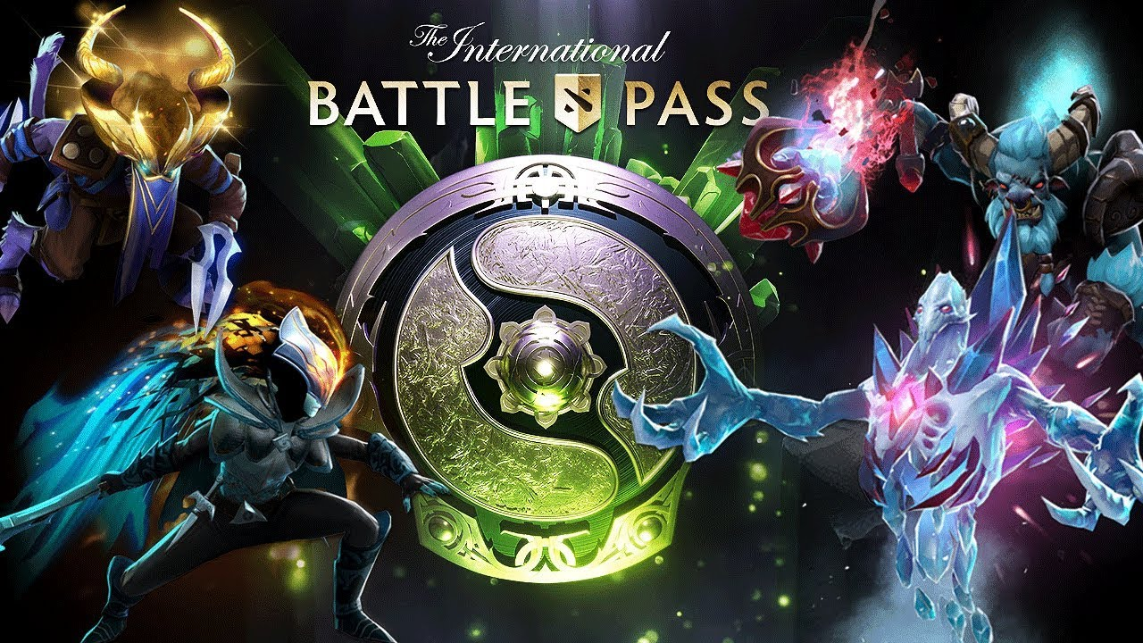 Dota 2 Immortal 12: The International 2018 Battle Pass