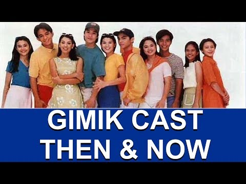 Gimik Cast Then and Now