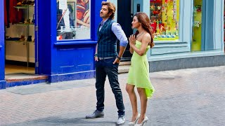 Making a Bollywood video on Carnaby Street in London