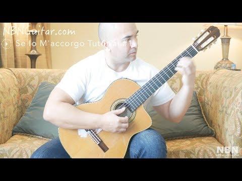 Se Io M'accorgo | Classical Guitar Tutorial #1 | Oscar Chilesotti | Free Tabs