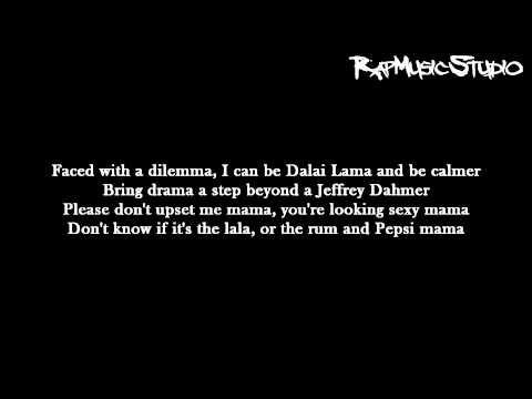 Eminem - Must Be The Ganja | Lyrics on screen | Full HD