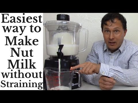 Easiest Way to Make Nut Milk in Minutes without Straining -