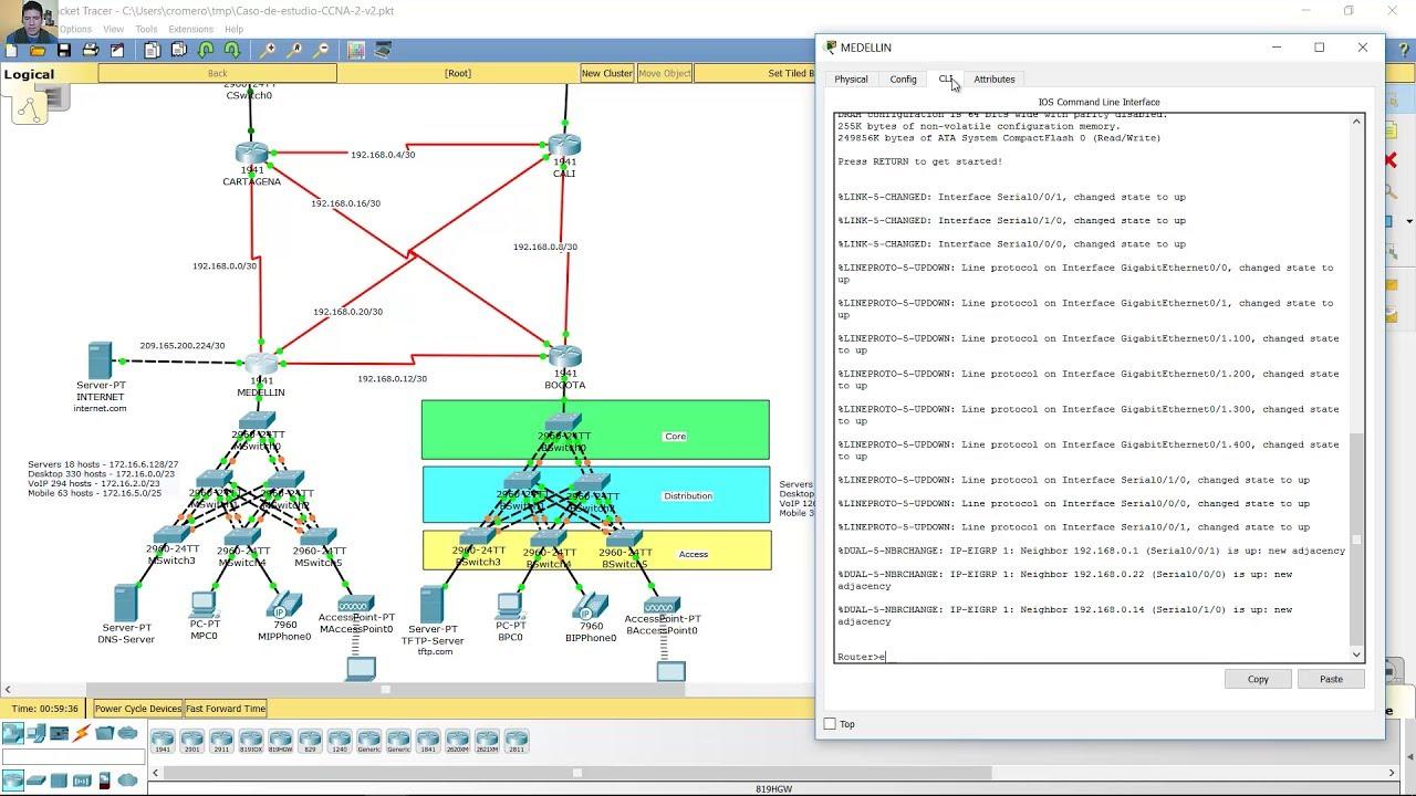 Caso De Estudio Ccna 2 Routing And Switching Essentials