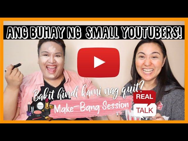 REAL TALK: LIFE OF A NEW YOUTUBER (WHILE DOING OUR MAKE UP) ft. TANYA  NALUNDASAN