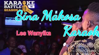 Les Wanyika - Sina Makosa Karaoke Lyrics & Beat(official Video)