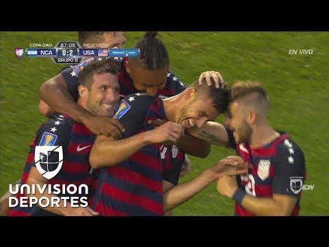 Matthew Miazga pone el 3-0 para Estados Unidos sobre Nicaragua