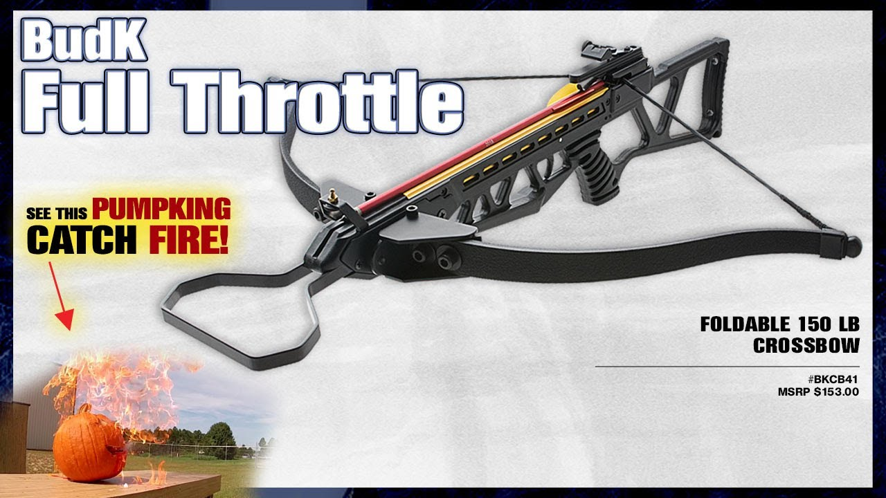 WT-SCOUT Survival Foldable Crossbows w// Retractable Stock /& 4 x 30 scope