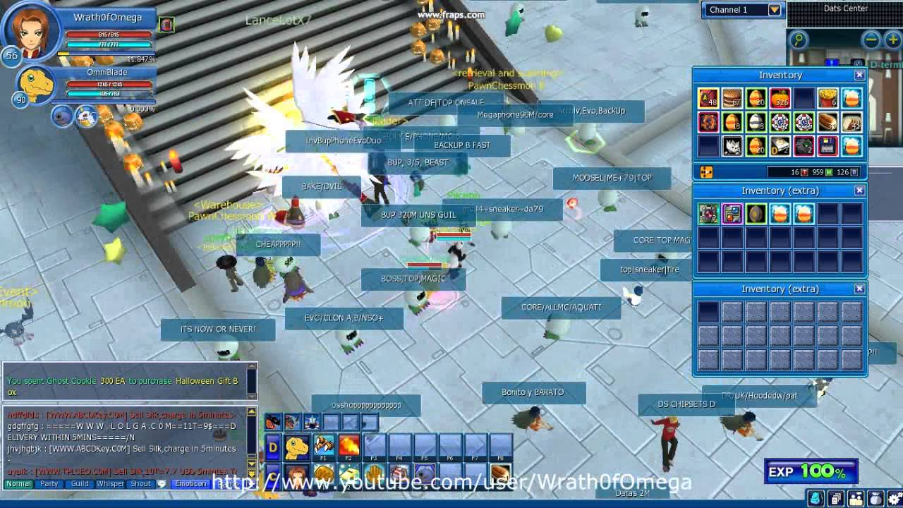 Digimon masters online scanning halloween gift box youtube digimon masters online scanning halloween gift box negle Images