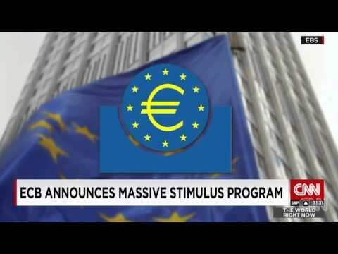 Desperate Draghi announces stimulus program