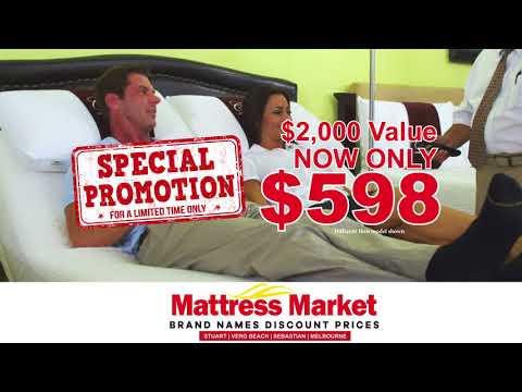 Mattress Market's Adjustable Bed Bonanza Sale!