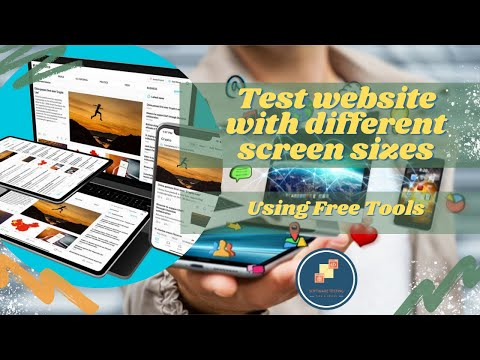 Free tools to test website on different screen sizes