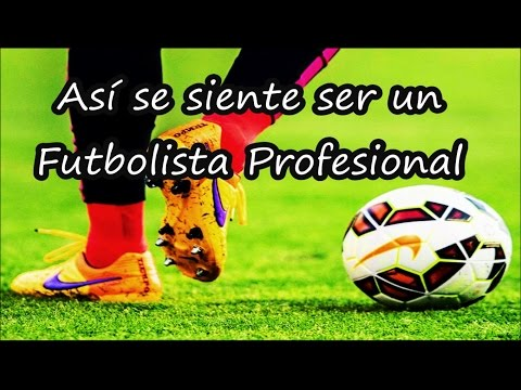 Así se siente ser un Futbolista Profesional (USAR AUDÍFONOS) | Fútbol Social