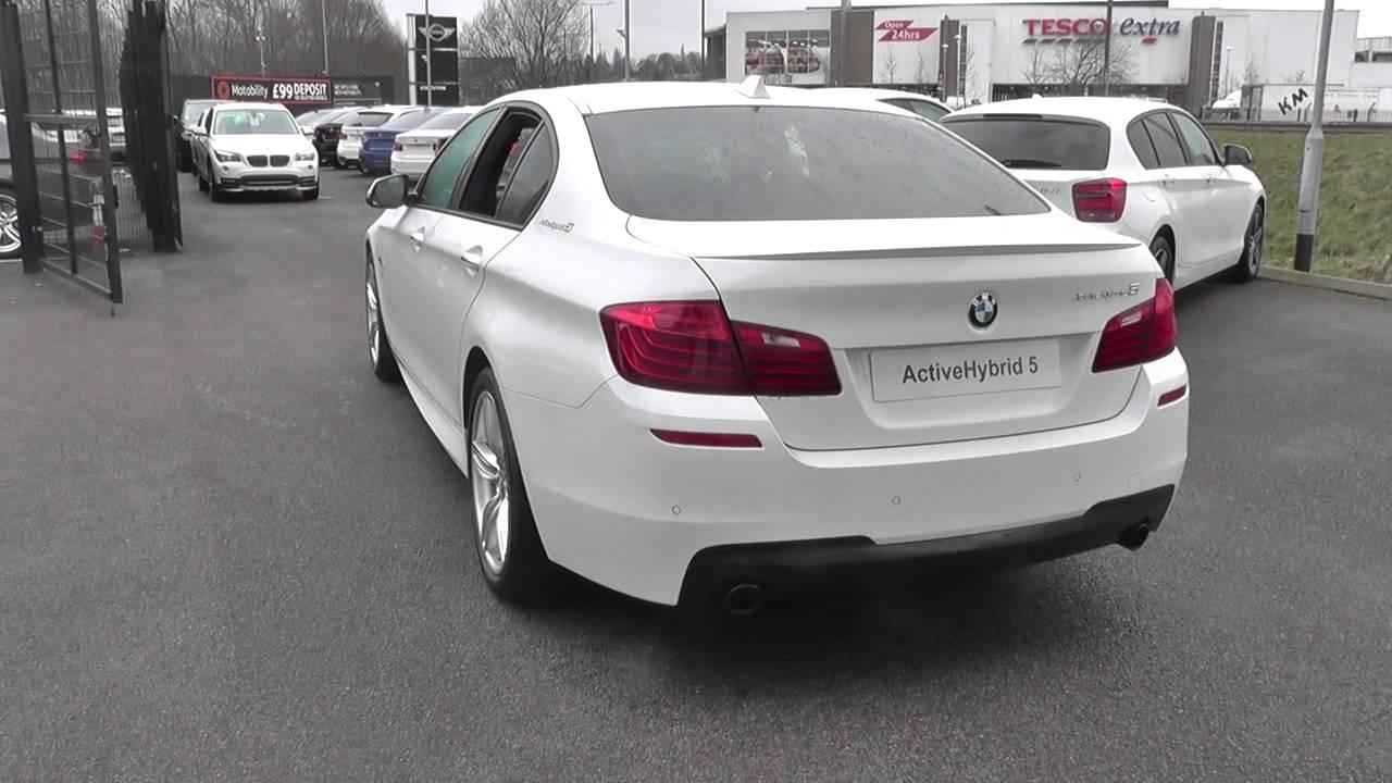 BMW 5 SERIES ActiveHybrid 5 M Sport 4dr Step Auto U12903 - YouTube