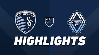 Sporting Kansas City vs. Vancouver Whitecaps FC   HIGHLIGHTS - May 18, 2019