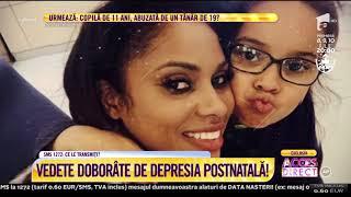 """Vedete doborâte de depresia postnatală: Laurette, după naștere: """"Parcă înnebunisem!"""""""
