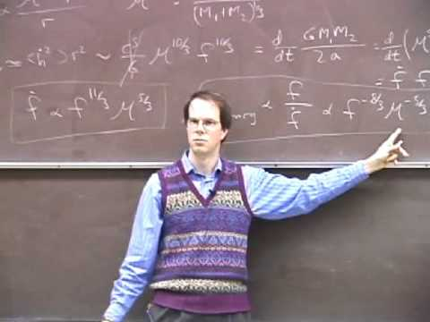 Astrophysics of Binary-Star GW Sources (1/5) by Sterl Phinney - GW Course: astro-gr.org
