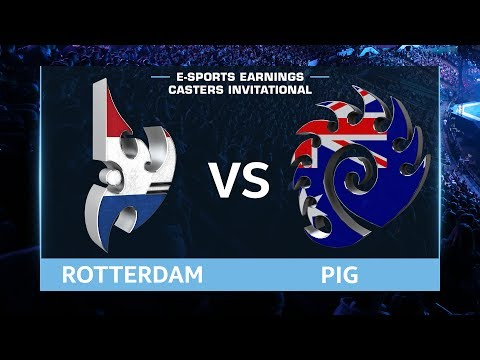 StarCraft 2 - RotterdaM vs. PiG (PvZ) - EsportsEarnings Casters Invitational - Playoffs Quarters #4