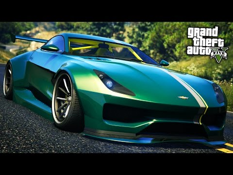 GTA Online: Fully Upgraded SPECTER CUSTOM Sports Car Showcase! (GTA 5 Import/Export DLC)