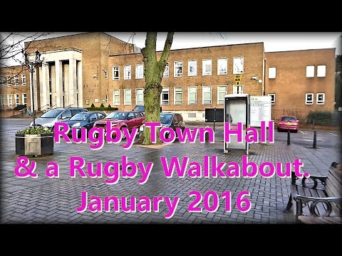A stroll around part of Rugby Town.