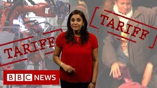 Who really pays in a tariff war? - BBC News