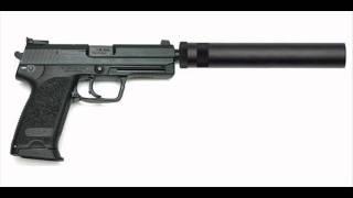 Suppressed handgun sound effects