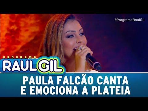 Paula Falcão Canta E Emociona A Plateia | Programa Raul Gil (16/12/17)