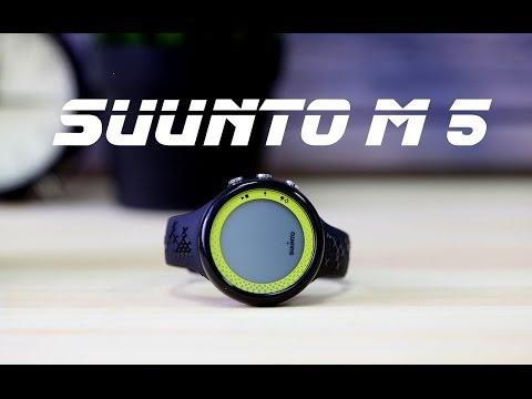Полный обзор Suunto M 5 - фитнес-часов с функциями личного тренера.