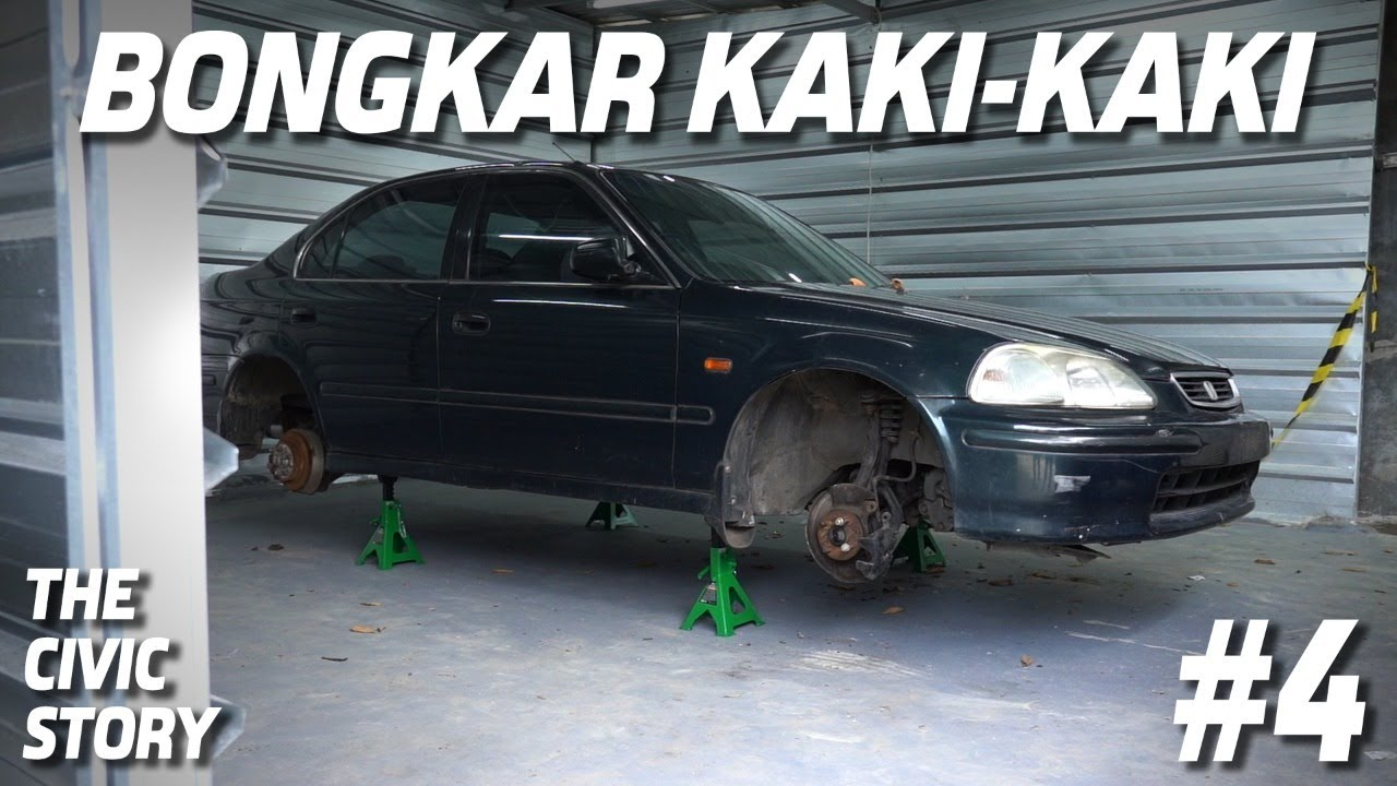 THE CIVIC STORY #4: KAKI - KAKI