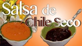 Salsa De Chile Seco - Al Estilo De La Abuela