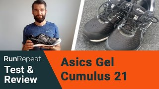 Asics Gel Cumulus 21 test and review - A well-built training shoe