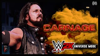 """WWE 2K - Universe Mode - WWE Carnage #4 - """"Gamble For Opportunity"""" (220)"""