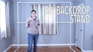 DIY PVC Backdrop - Party Planning How To's