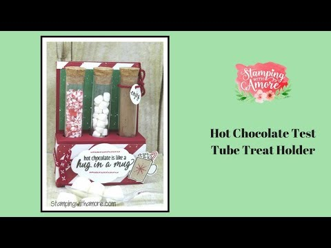Hot Chocolate Test Tube Treat Holder