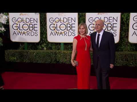 Jeffrey Tambor and Kasia Ostlun Fashion  Golden Globes 2016
